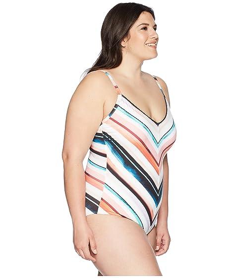 La One Mitered Size Multicolor Piece Plus Blanca Izq4UOrI