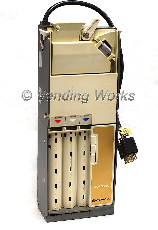 Atlanta Mall 9300-L Coinco Coin Quality inspection Changer Acceptor - Rebuilt