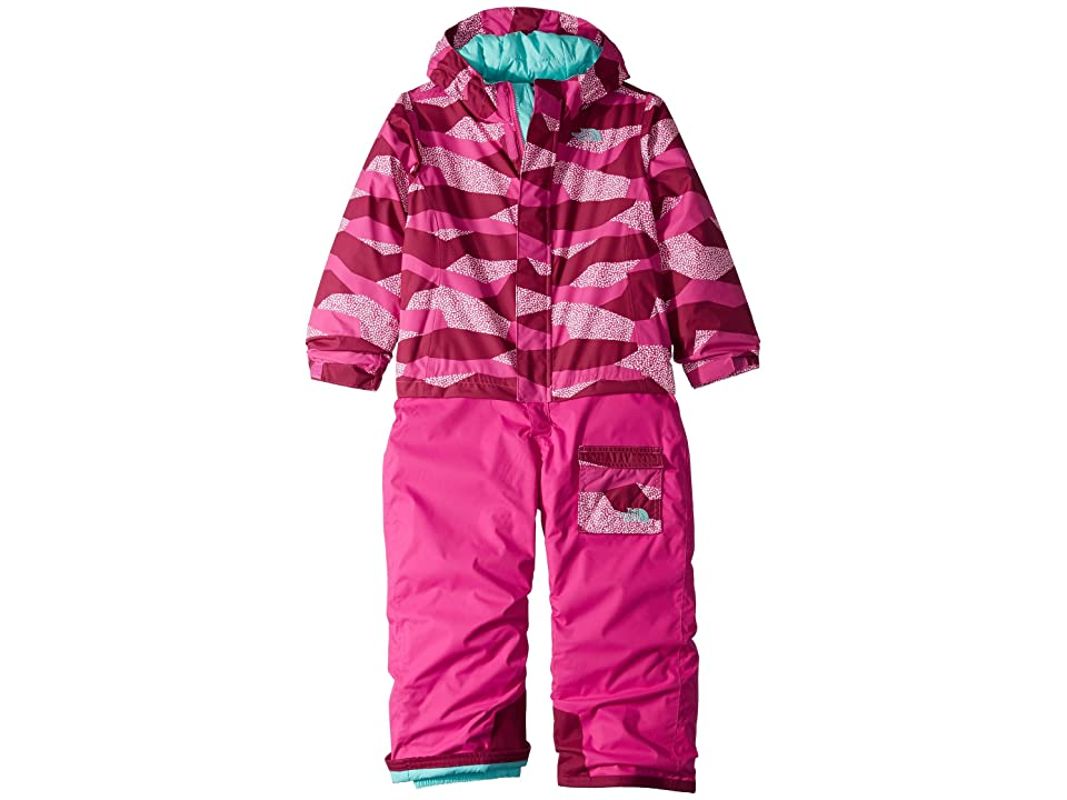 The North Face Kids Insulated Jumpsuit (Toddler) (Azalea Pink) Girl's Jumpsuit & Rompers One Piece