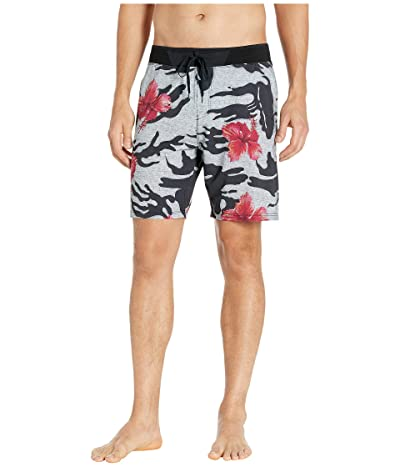 Hurley 18 Phantom Hyperweave 3.0 Miramar Boardshorts (Black) Men