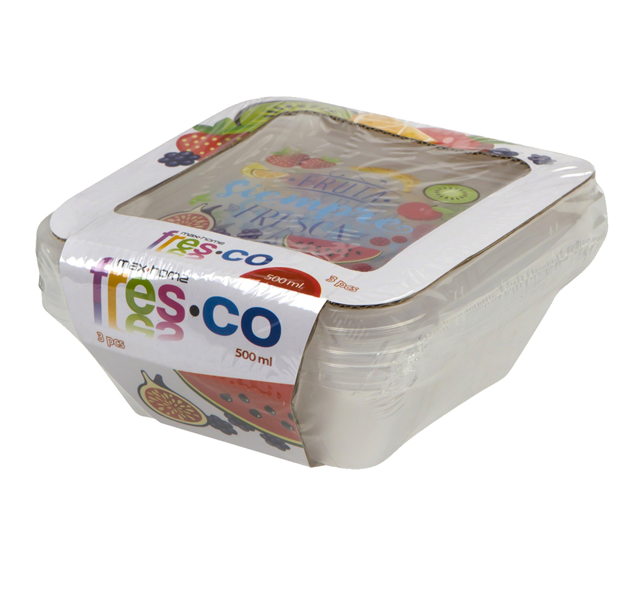 Color Baby- Fruta Fresca Pack con 3 Fiambreras (16383.0): Amazon.es: Juguetes y juegos
