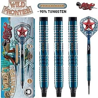 Shot! Darts Wild Frontier Trailblazer-Soft Tip Dart Set-Centre Weighted-90% Tungsten Barrels