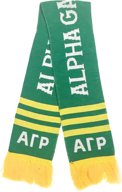 Alpha Gamma Rho Fraternity Letter Winter Scarf Greek Cold Weather Winter agr