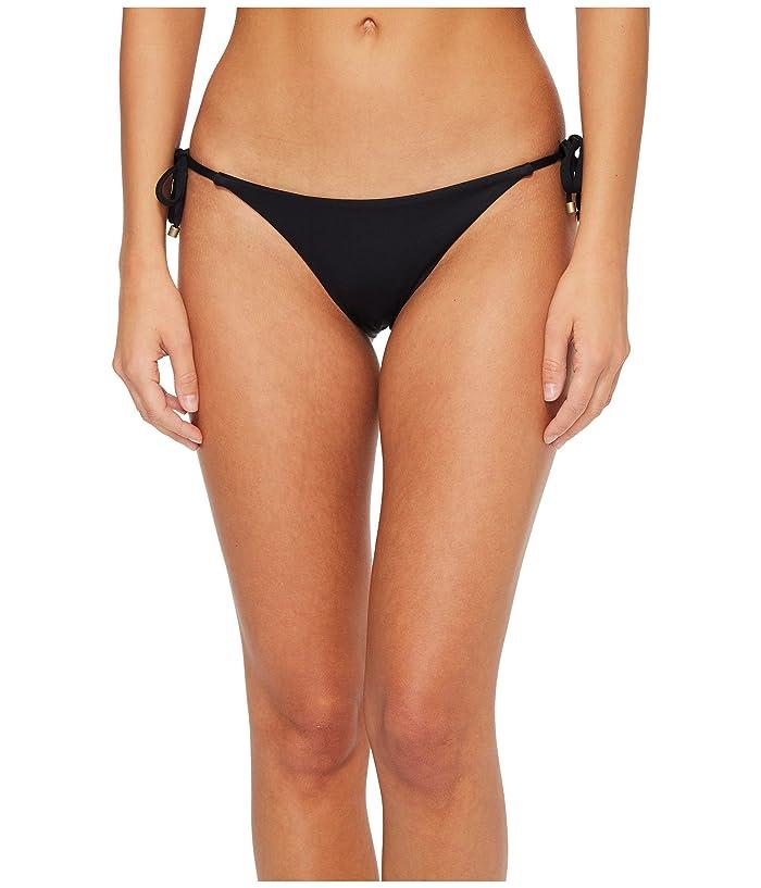 Vitamin A Swimwear Elle Tie Side Bottom (Eco Black) Women