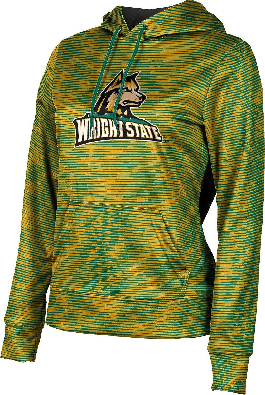 ProSphere Wright State University Girls' Pullover Hoodie, School Spirit Sweatshirt (Velocity)