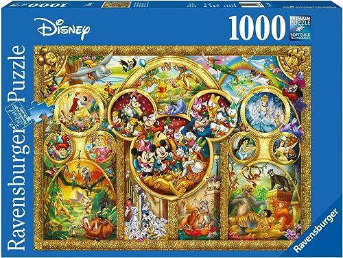 Ravensburger - Puzzle Adulte - Puzzle 1000 p - Les plus beaux thèmes Disney - Adultes et enfants à partir de 14 ans -...