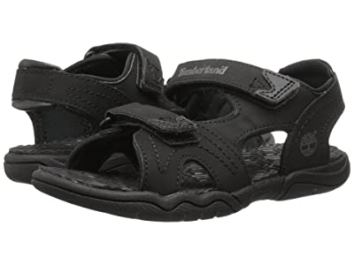 Timberland Kids Adventure Seeker 2 Strap Sandal (Little Kid) (Blackout) Kids Shoes