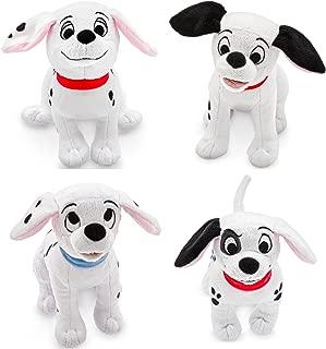 Disney Store 101 Dalmatians Plush Mini Bean Bag Bundle of 4: Patch, Penny, Lucky, Rolly