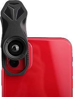 AORO 120°広角レンズ スマホレンズ クリップに付き 自撮りレンズ iphone、sony、sharpとファーウェイなどに対応 高画質 簡単装着 スマホ用カメラレンズ
