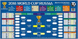 Best world cup wall chart 2018 Reviews