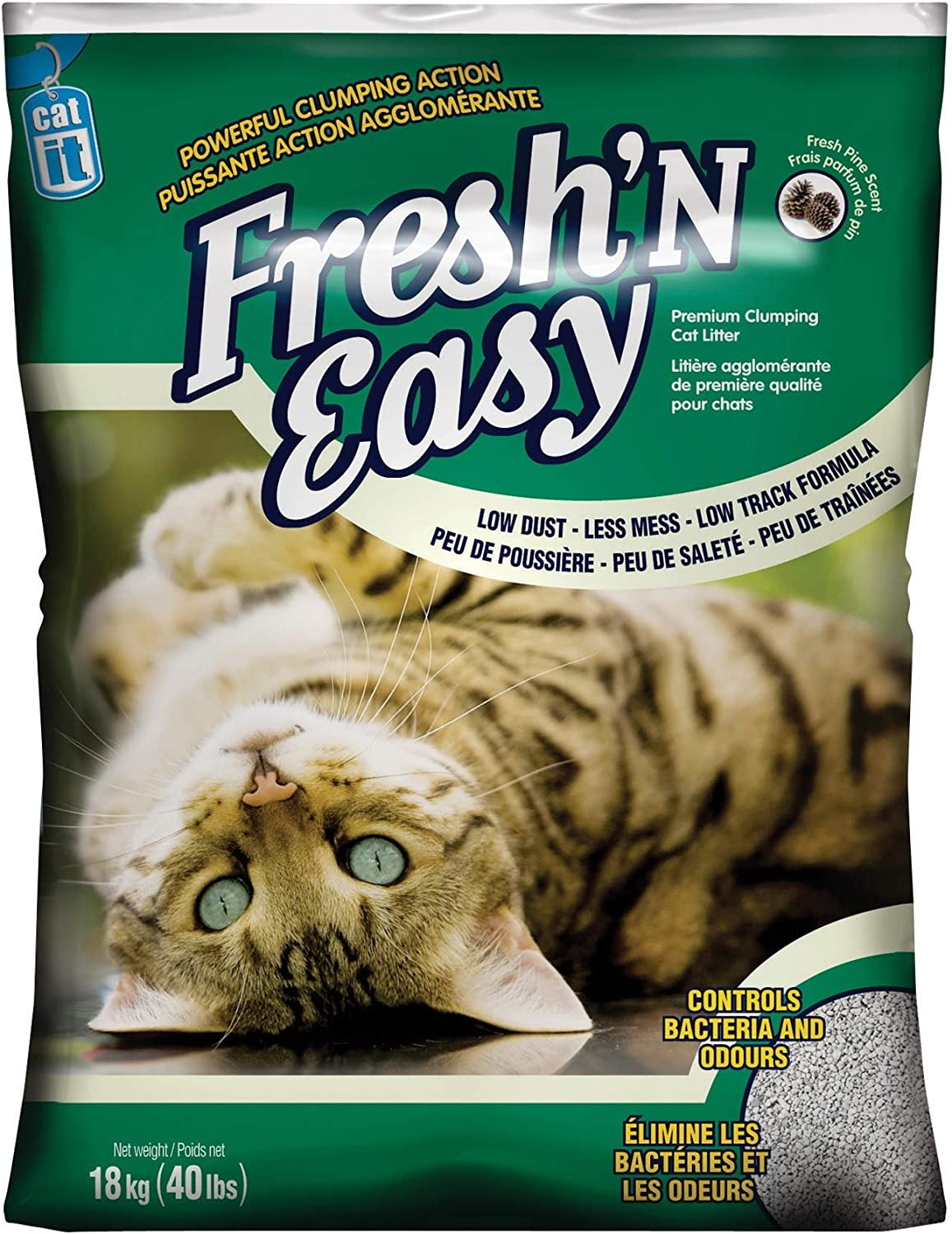 Catit Fresh and Easy Cat Litter, 40Pound