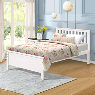 Best wood twin beds for adults Reviews