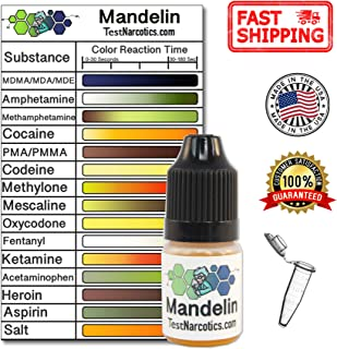 mandelin reagent test