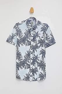DeFacto Slim Fit Çiçekli Gömlek