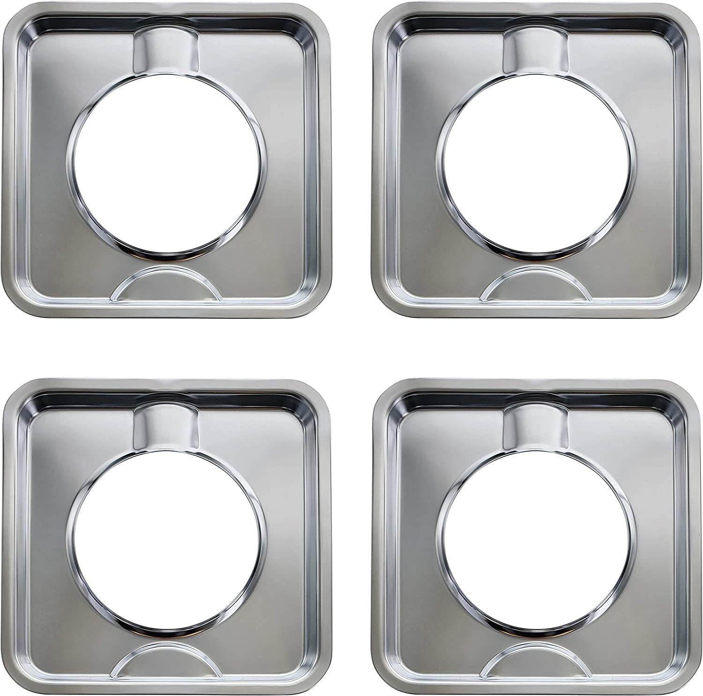 Kitchen Basics 101 trust SGP-400 4 Pack Di Range Chrome Max 64% OFF Gas Square Pan
