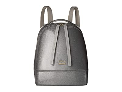Furla Candy Cake Small Backpack (Color Silver) Backpack Bags