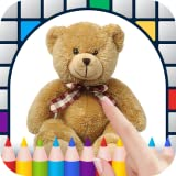 Teddy Bears Color by Number - Free Pixel Art Game - Coloring Book Pages - Happy, Creative & Relaxing - Paint & Crayon Palette - Zoom in & Tap to Color - Share Creations with Friends!