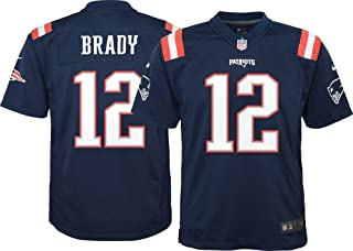 Nike New England Patriots Tom Brady Color Rush Game Jersey - Youth Small (8)