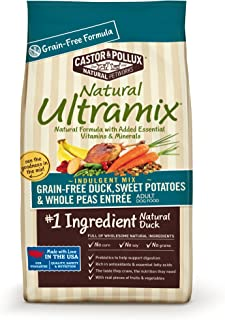 Natural Ultramix Grain-Free Duck Sweet Potatoes and Whole Peas Entrée for Pets, 5.5-Pound