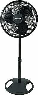Lasko FBA 2521 Oscillating Stand Fan, 16-Inch, Black, 1-Pack, FFP (Renewed)
