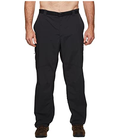 Columbia Big Tall Silver Ridgetm Cargo Pant (Black) Men