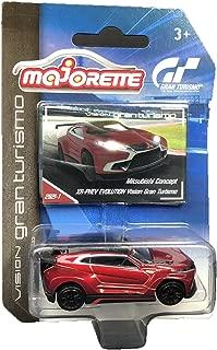 Majorette Vision Gran Turismo Mitsubishi Concept XR-Phev Evolution Cars Diecast Red
