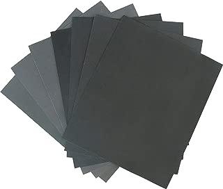 Aewio 21枚 230x280mm サンドペーパー 紙やすり 耐水ペーパー 研磨紙 耐水サンドペーパー 木工 ペーパー 研磨用 21枚入り(400 600 800 1000 1200 1500 2000 7種類 各3枚)