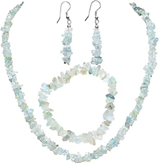 Best helenite necklace & earring set Reviews