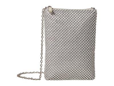 Jessica McClintock Gina (Silver) Clutch Handbags