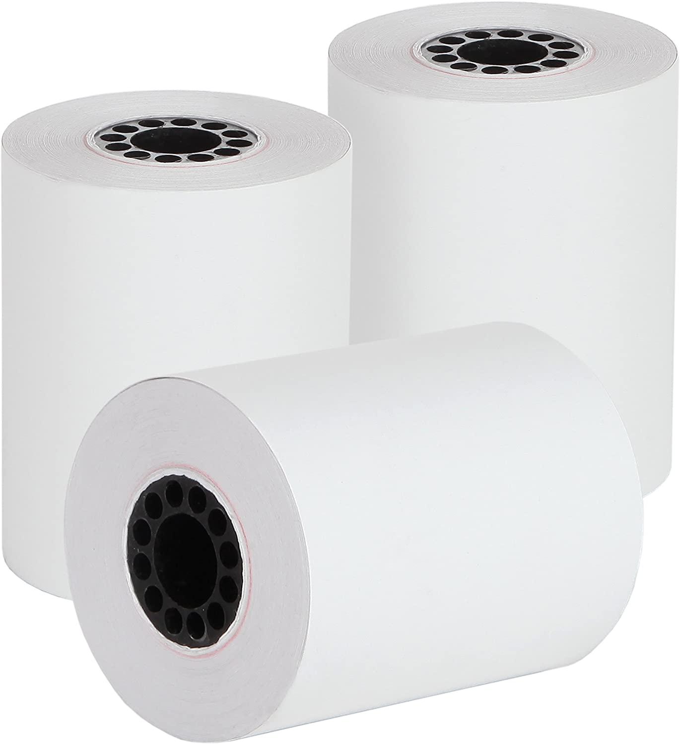 Pack of 10 Rolls 2 1//4 x 85 White Thermal Paper Credit Card /& Cash Register Tape