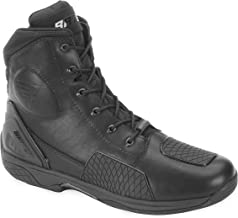 Bates Adrenaline Performance Men`s Motorcycle Boots (Black, Size 8)