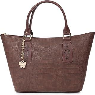 Butterflies Women's Stylish Handbags (Brown) (BNS 0738BN)