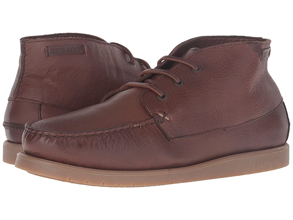 Sebago Landon Chukka (Brown Leather) Men