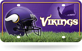 NFL Metal License Plate Tag