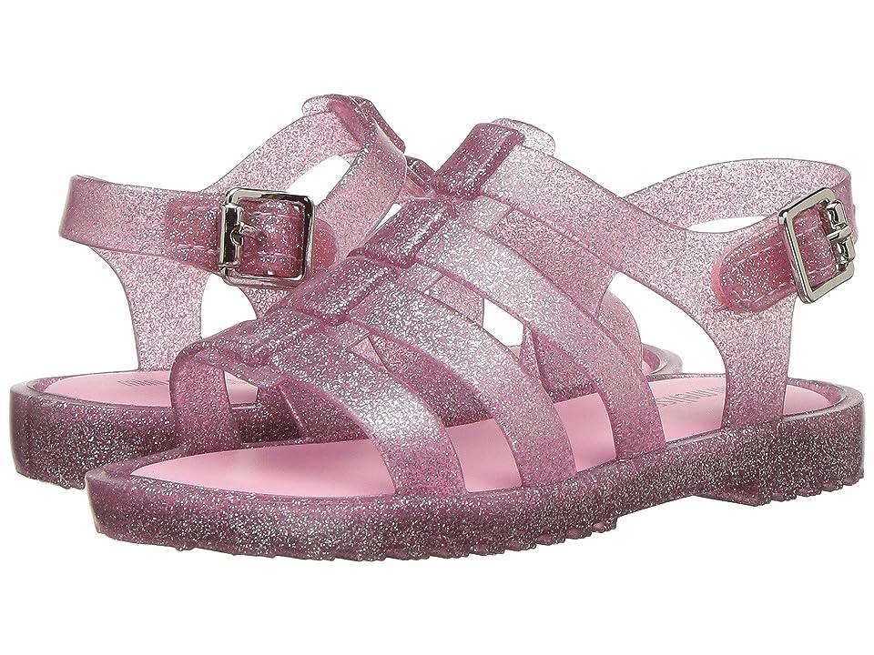 Mini Melissa Flox (Toddler) (Pink Glitter 1) Girls Shoes