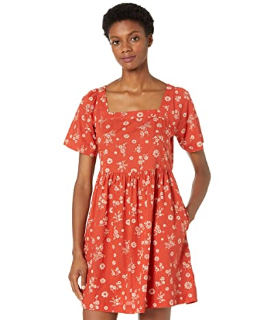 Madewell Allie Mini Dress in Cottage Floral