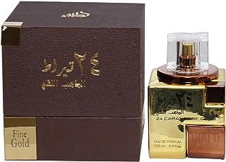 Lattafa Parfums 24 carat pure gold For Unisex 100ml - Oud
