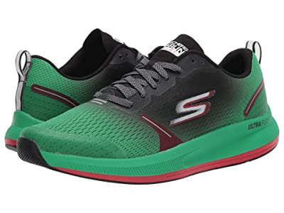 SKECHERS Go Run Pulse (Green/Black) Men