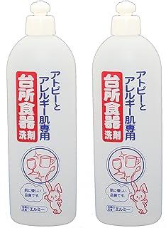 【まとめ買い】 エルミー アトピー専用台所食器洗剤 500ml ×2個セット
