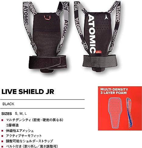 ATOMIC Damen//Herren Live Shield Ski-R/ückenprotektor