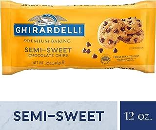 Ghirardelli Chocolate Baking Chips, Semi-Sweet Chocolate, 12 oz., 6 Count