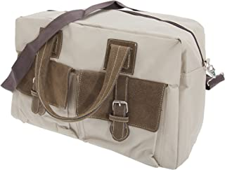 Forest Vintage Style Canvas Weekender/Holdall Carry Bag