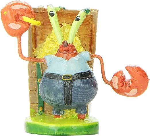 Penn Plax Mr. Krabs Resin Ornament