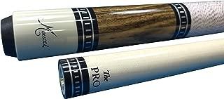 Meucci SB4 Handcrafted Billiards Pool Cue Stick w/PRO Shaft - Bocote + Hard CASE