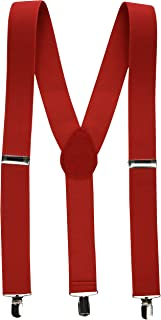 Amscan Suspenders, Party Accessory, Red