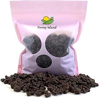 Sunny Island Bulk - Brookside Dark Chocolate Crunchy Clusters Berry Medley Candy Snack, 2 Pounds Bag