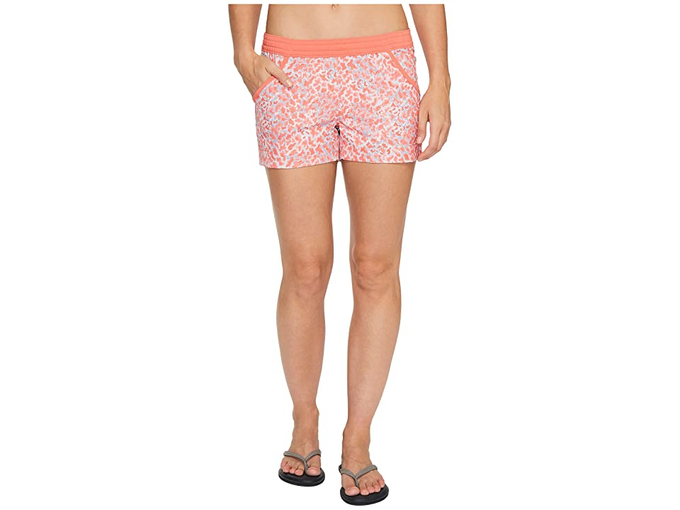 Columbia Tidal Shorts (Melonade Coral Print) Women