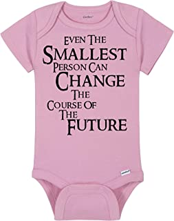 Lord of the Rings Baby Onesie® - Even The Smallest Person Can Change The Course Of The Future - LOTR Quote By Gandalf - Handmade Baby Bodysuit For Boys And Girls - Baby Shower Gift Idea