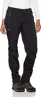 (16, Black) - Odlo Women's Pants Long Length Wedge Mount Hose, Womens, Pants long length WEDGEMOUNT