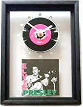 ELVIS PRESLEY [1956]: Framed CD Art Clock/Exclusive Design